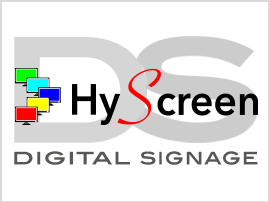 HyScreen Digital Signage 270 x 203