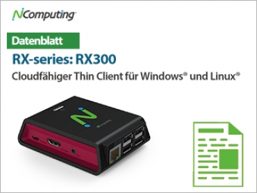 NComputing Download RX 300 Datenblatt