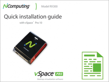 NComputing Download1 RX 300 Quick installation Guide