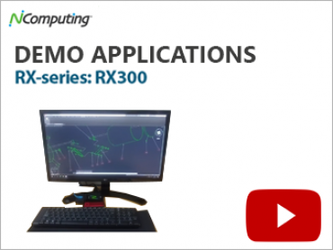 NComputing Video RX 300 Demo Applications