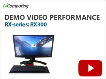 NComputing Video RX 300 Demo Video Performance