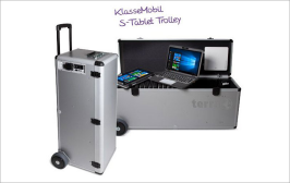 News Distribution Schul Aktion Tablet Trolley 798x504px
