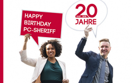 Beitragsbild Happy Birthday PC SHERIFF Distribution